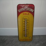 1950's Metal Soda Advertising Thermometer