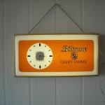 1970's Biltmore Dairy Clock