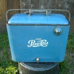 1950's Metal Pepsi Ice Chest