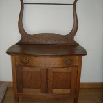 Tiger Oak Wash Stand