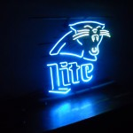 Neon Panthers/ Miller Lite Sign